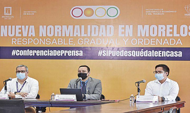 Autoridades de Morelos ven posibilidades de avanzar a amarillo por COVID-19