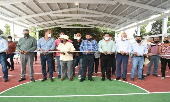 Encabeza alcalde de Cuautla, inauguración de 4 obras en zonas de atención prioritaria.