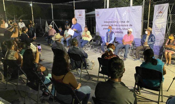 Trabaja la Ceagua en integración de comités de planeación comunitaria en Cuautla