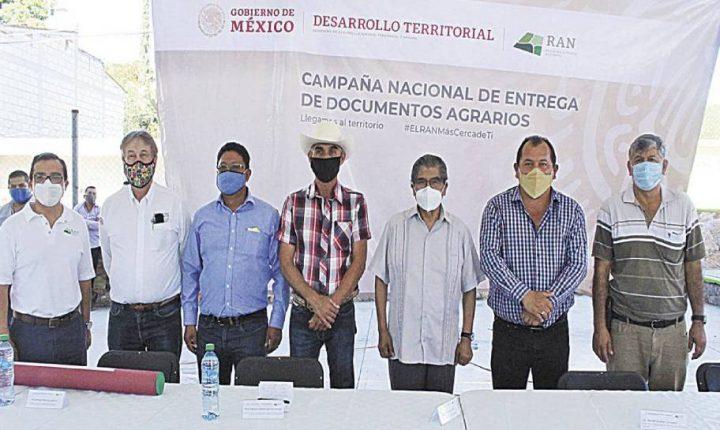 Otorgan títulos de propiedad en Tepalcingo