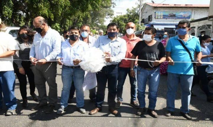 Encabeza alcalde de Cuautla,  inauguración de 4 obras en las Cruces y Cuauhtémoc