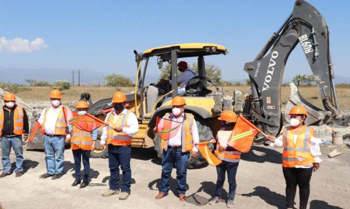 Inicia CEAGUA construcción de Sistema de Agua Potable en Atlatlahucan
