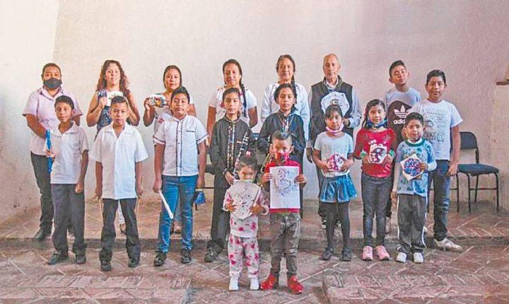 Terminan talleres en Casa de Cultura de Tlayacapan