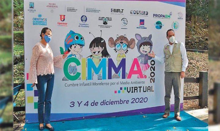 Inicia en Morelos Cumbre Infantil de Medio Ambiente