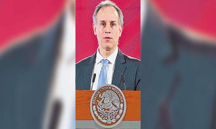 Avala López-Gatell semáforo rojo en Morelos; va al alza, dice