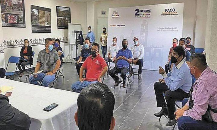 Reanudan servicios en mercado de cecina de Yecapixtla
