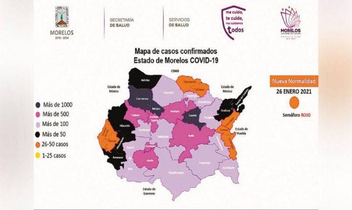 Urge SSM a población a reducir movilidad en Morelos