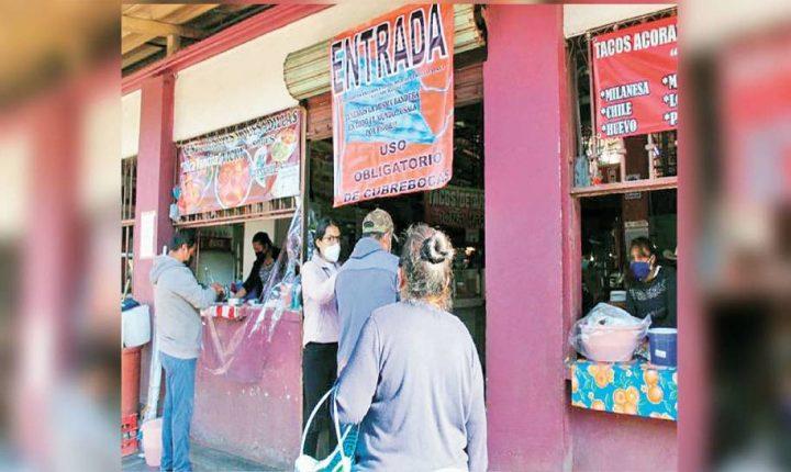 Mercado de la cecina en Yecapixtla ya labora al 100%