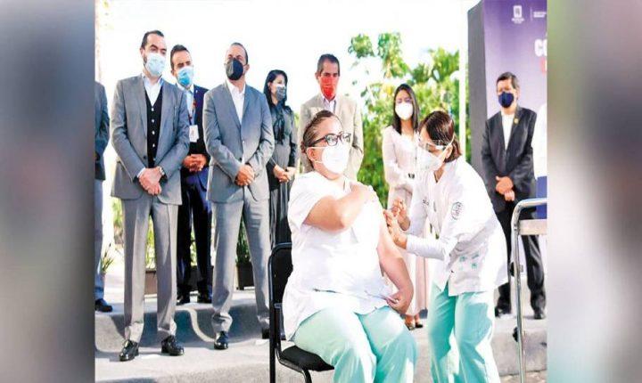 Cuauhtémoc Blanco hizo el arranque oficial del Plan de Vacunación COVID19 en Morelos