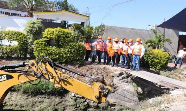 Rehabilita la CEAGUA canal principal Tenango en Ayala