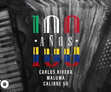 Calibre 50, Maluma y Carlos Rivera en remix del tema '100 años'