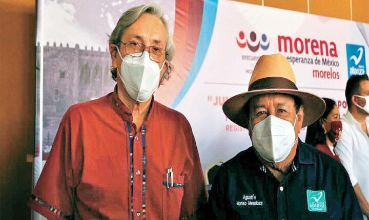 Agustín Alonso Mendoza va otra vez por alcaldía de Yautepec