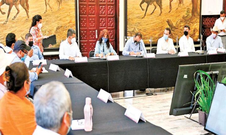 Firman la paz para Hueyapan; Gobernador atestigua