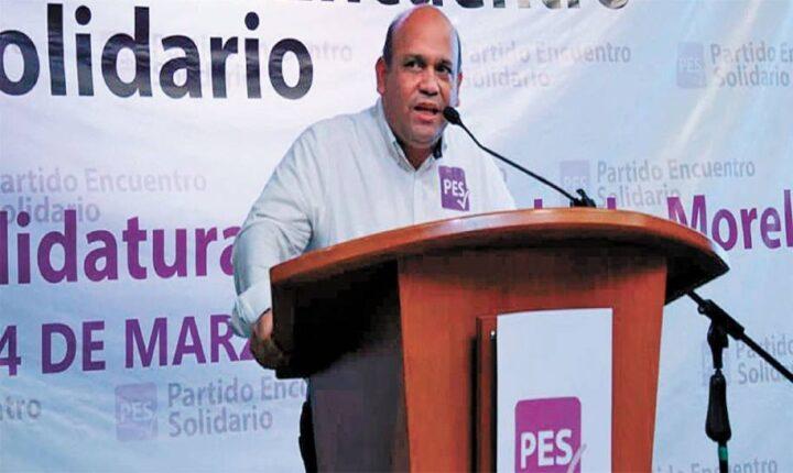 Confirma PES a Moisés Agosto para alcaldía de Cuautla