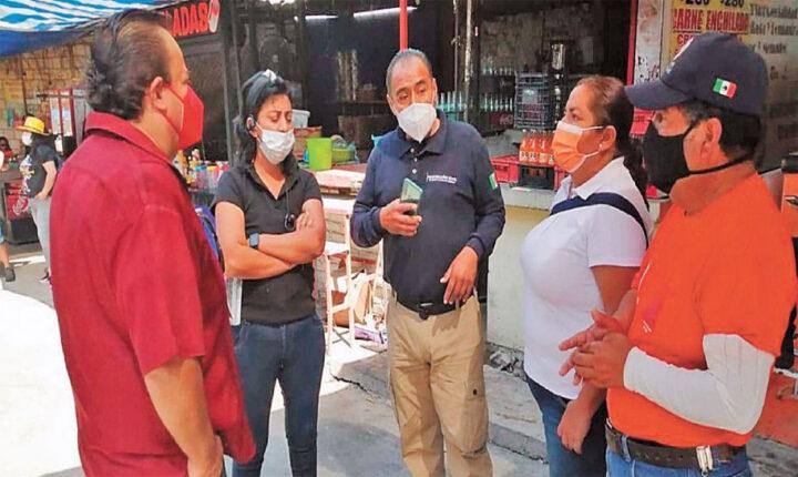 Revisan cumplimiento de medidas sanitarias en Yautepec