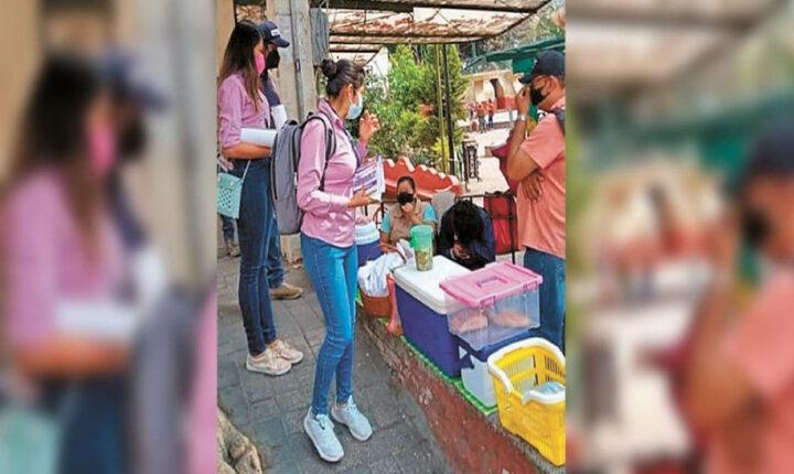 Protegen en Tepoztlán contra contagios de coronavirus