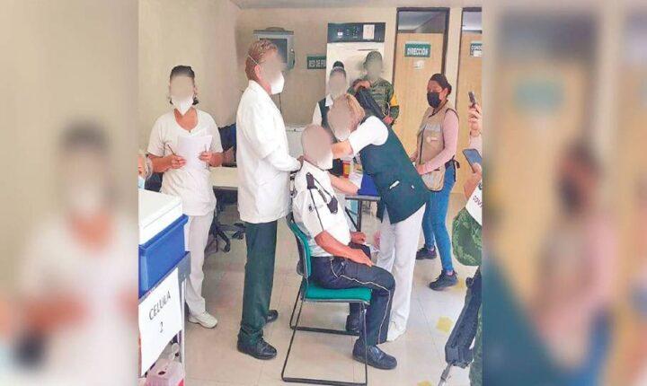 En orden, primer día de vacunación en zona oriente de Morelos