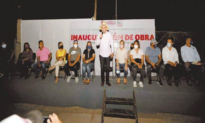 Inauguran en Yautepec serie de obras