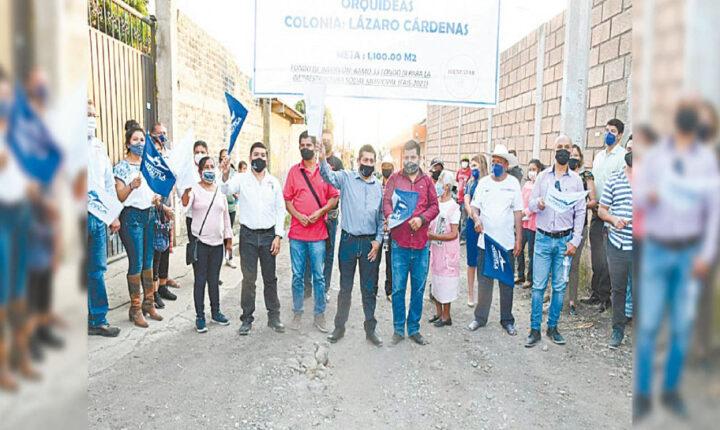 Inicia alcalde de Cuautla programa de obra pública