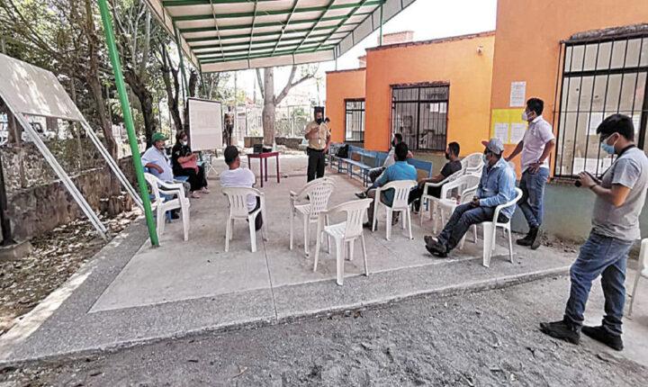 Combaten incendios con cursos en Tlayacapan