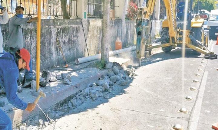 Repararán avenida Capitán Bollas en Cuautla