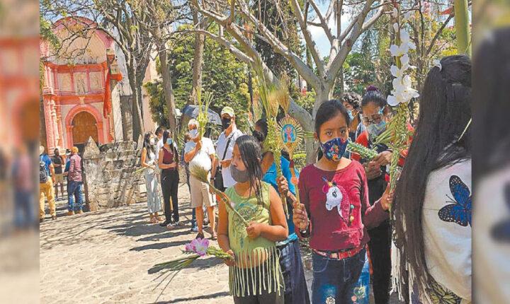Inicia la segunda Semana Santa con sana distancia en Morelos