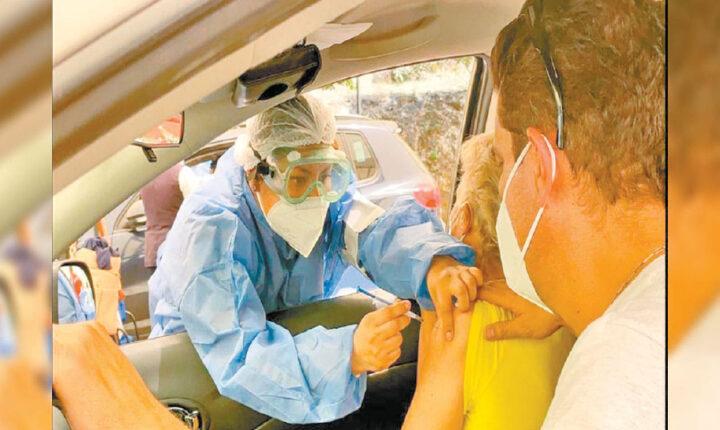 Participa SSM con brigada de vacunación y apoyo en Morelos