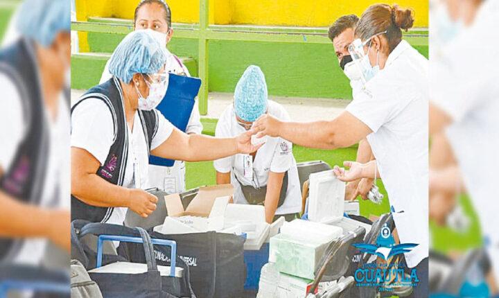 Inicia hoy vacunación vs COVID19 en 4 municipios de Morelos