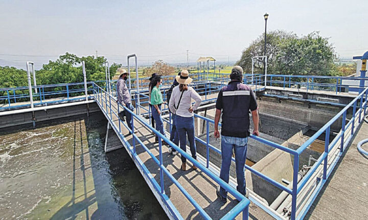 Supervisan calidad en tratamiento del agua en plantas de Cuautla