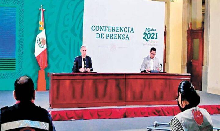 Llama López-Gatell a Morelos a frenar alza de casos de COVID19