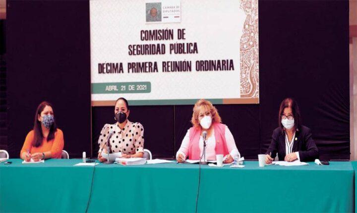 Resalta diputada Juanita Guerra fragilidad del sistema de Seguridad