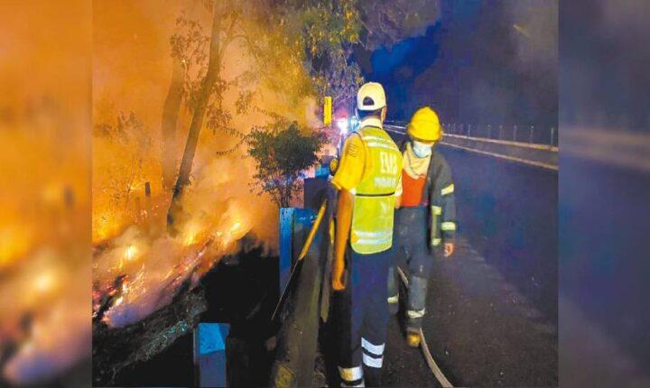 Prevén más humareda por incendios en Morelos