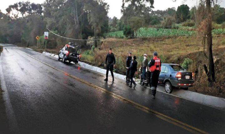 Provoca la lluvia fuerte accidente en Tlalnepantla