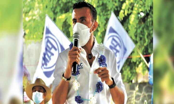 Lleva Isaac Pimentel la ola azul a Moyotepec