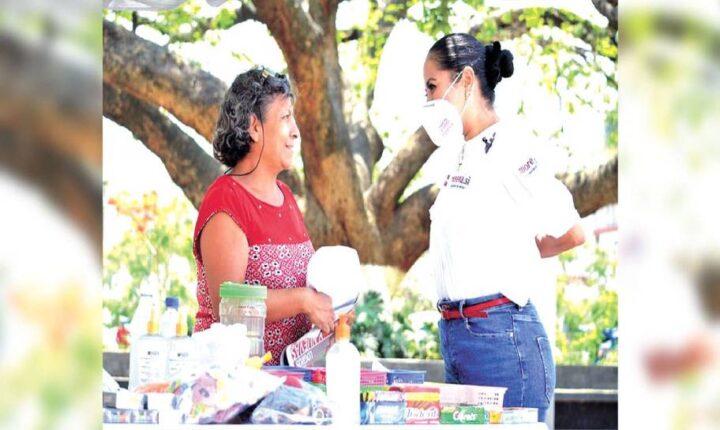 Juanita Guerra promete apoyar a mujeres emprendedoras