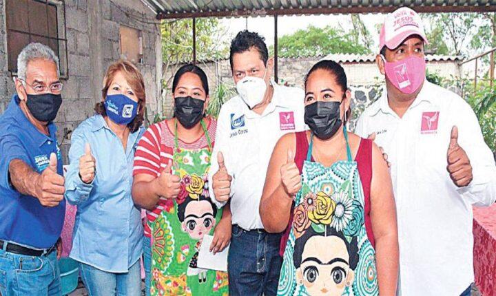 """No les voy a fallar"", garantiza Jesús Corona a cuautlenses"