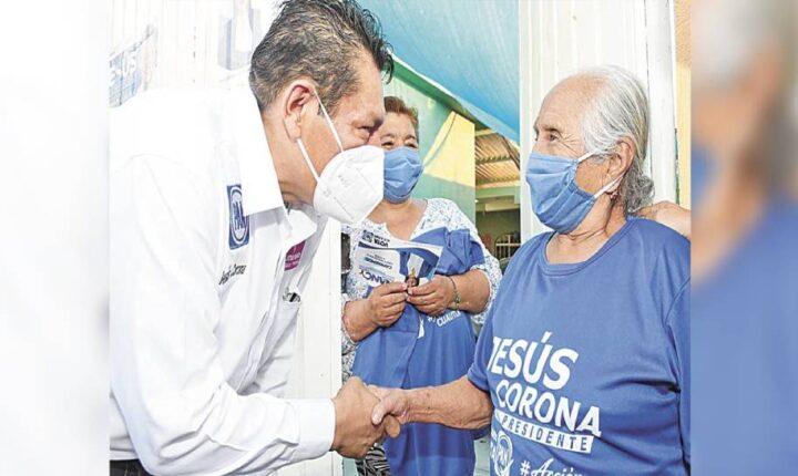 Pide Jesús Corona, candidato a alcalde de Cuautla, el voto para el PAN