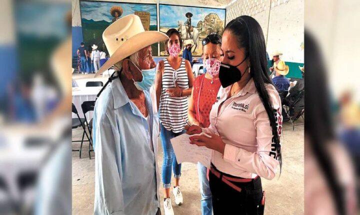Juanita Guerra comprometerá sus proyectos por escrito en Morelos
