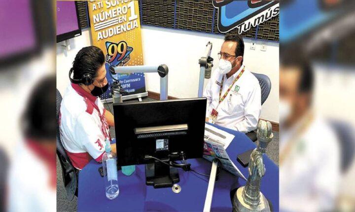 Se inicia hoy aplicación de dosis a grupo de 50 y más en diez municipios del sur de Morelos