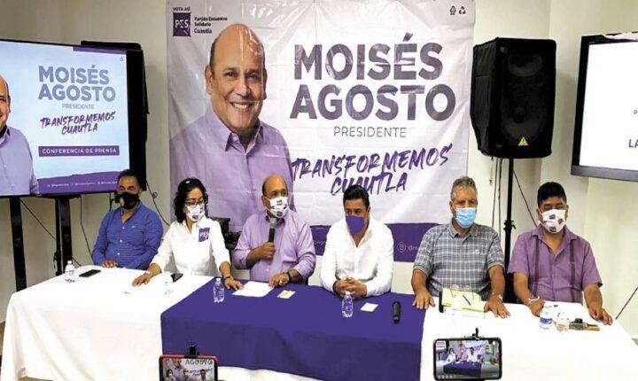 Llama Moisés Agosto a electores a vigilar propaganda en Cuautla
