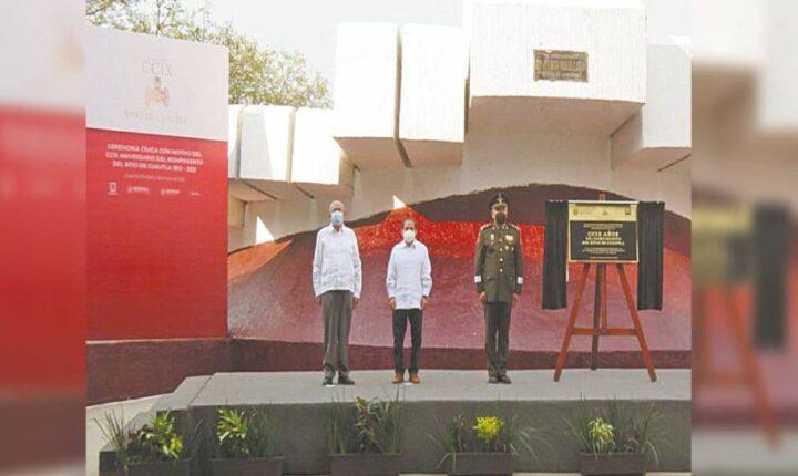 Realizan ceremonia por aniversario del Sitio de Cuautla