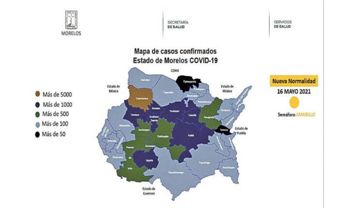 A partir de hoy, pruebas COVID en Temoac, Tepalcingo y Tlaltizapán