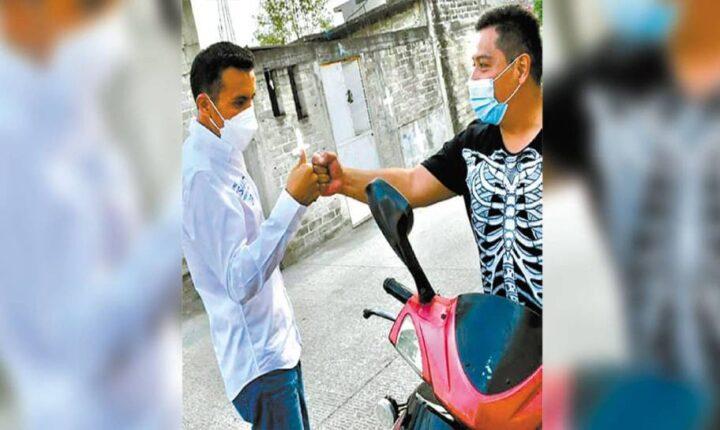 Pide Isaac Pimentel Jr. voto de confianza en Ayala