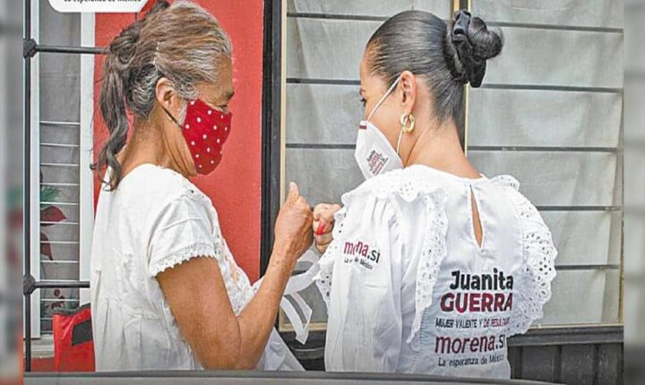 Desconoce Juanita Guerra motivos de incendio en su domicilio