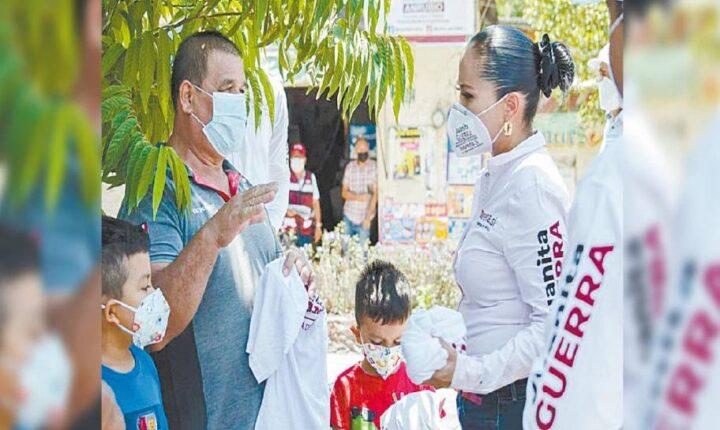 Se compromete Juanita Guerra a dignificar espacios deportivos en Tlaltizapán
