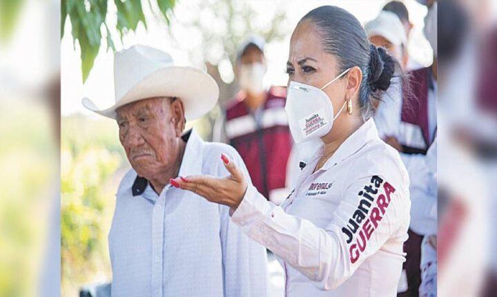 Participará Juanita Guerra en debate de candidatos a diputación federal