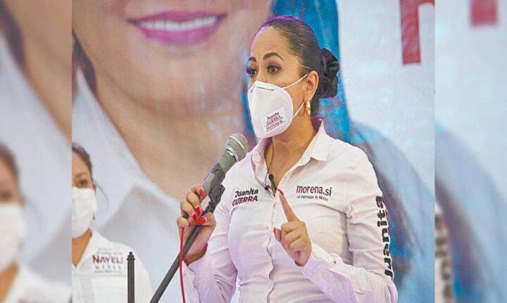 Exige Juanita Guerra resolver denuncias de ataques a candidatos