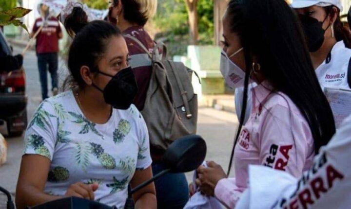 Apoyará Juanita Guerra a mujeres emprendedoras de Morelos