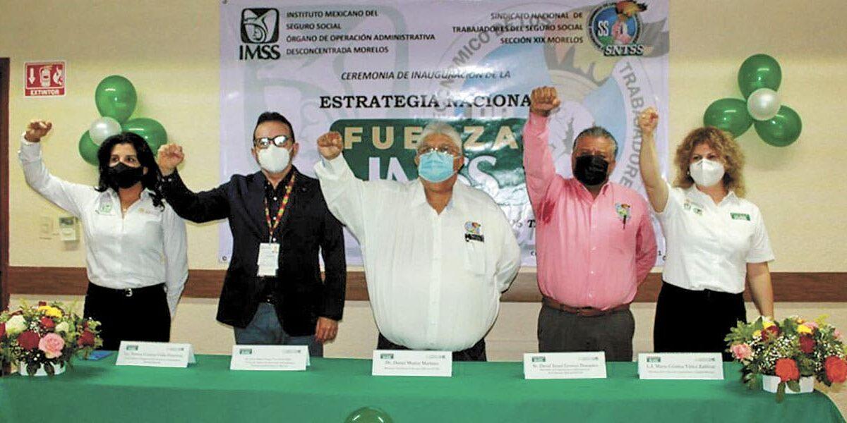 Presenta IMSS Morelos estrategia para fortalecer salud mental de su personal