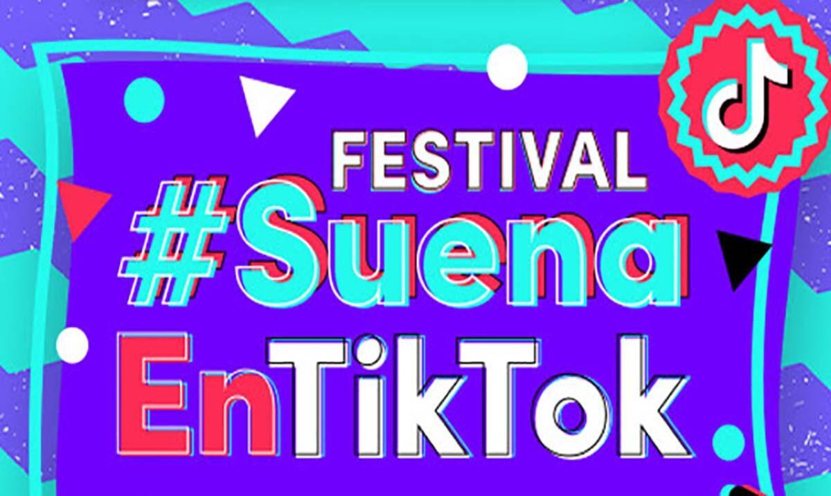 PRESENTAN EL FESTIVAL 'SUENA EN TIKTOK' CON BANDA MS EL RECODO Y CHRISTIAN NODAL